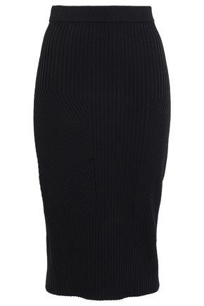 JONATHAN SIMKHAI Stretch-knit pencil skirt
