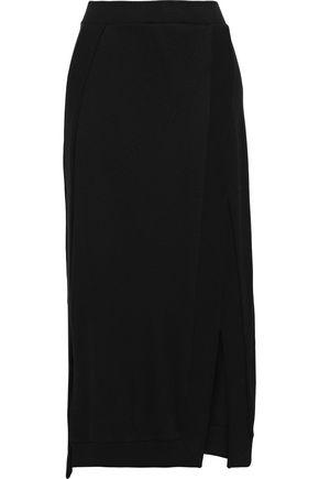 PACO RABANNE Stretch-jersey midi skirt