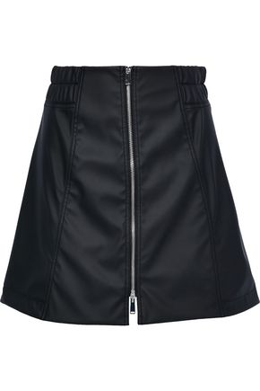 PACO RABANNE Faux leather mini skirt