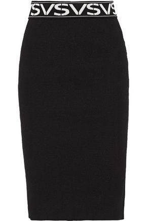 VERSUS VERSACE Stretch-knit pencil skirt