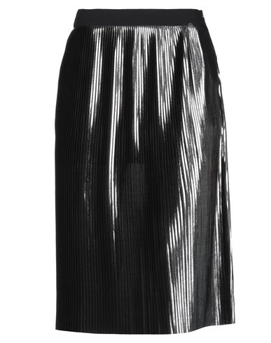 Фото - Юбку длиной 3/4 серебристого цвета