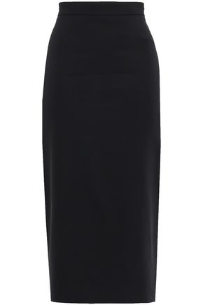 ANTONIO BERARDI Stretch-crepe midi pencil skirt