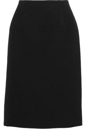 MARC JACOBS Cotton, wool and silk-blend cloqué skirt