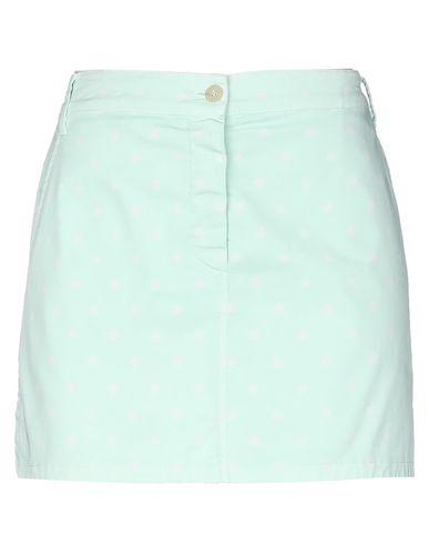 Фото - Мини-юбка светло-зеленого цвета