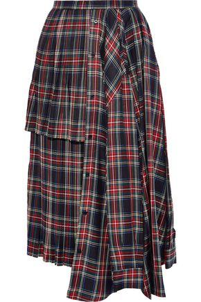 PUSHBUTTON Knee Length Skirt
