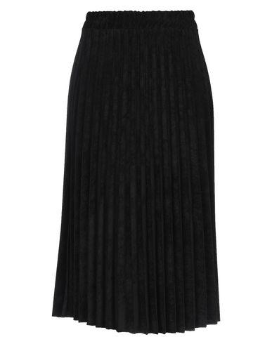 Фото - Юбку длиной 3/4 от BERNA черного цвета