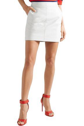 GIVENCHY Embellished leather mini skirt