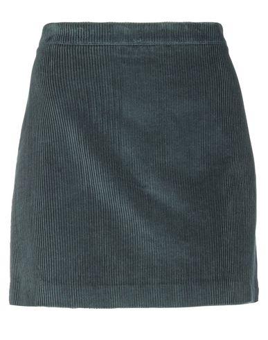 Фото - Мини-юбка темно-зеленого цвета