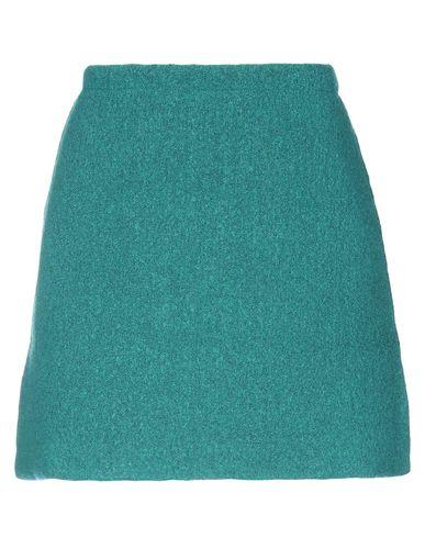Фото - Мини-юбка от SIYU зеленого цвета