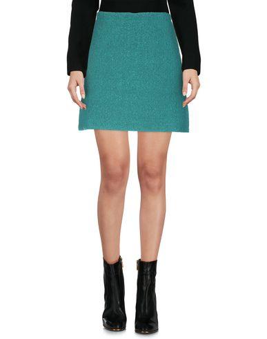 Фото 2 - Мини-юбка от SIYU зеленого цвета