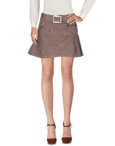 Фото 2 - Мини-юбка цвет какао