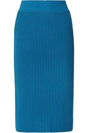 CALVIN KLEIN 205W39NYC Ribbed cotton skirt