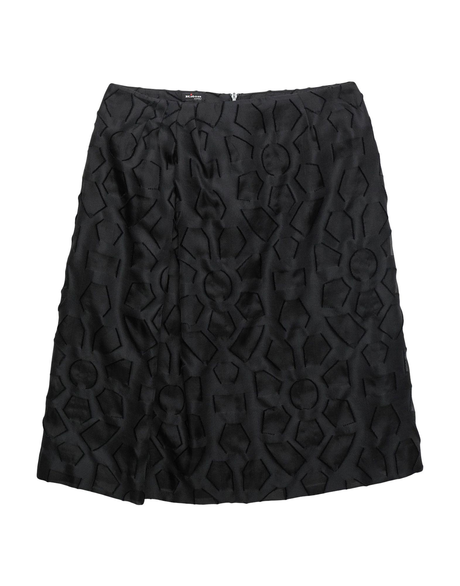 KITON Юбка до колена kiton повседневные брюки