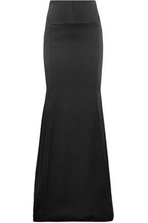 ROLAND MOURET Duchesse-satin maxi skirt