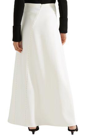 THE ROW Farrow paneled cady maxi skirt