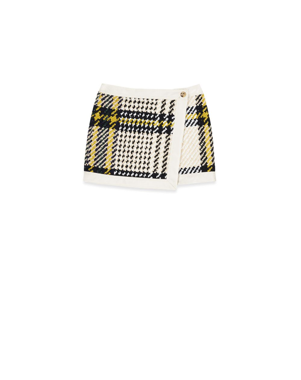 SHORT WOOL WRAP SKIRT - Lanvin