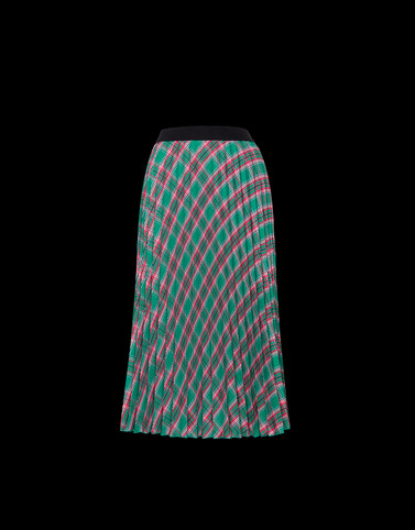 SKIRT Green Category Long skirts
