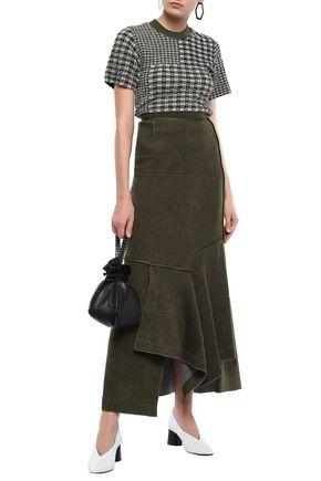 3.1 PHILLIP LIM Draped knitted maxi skirt