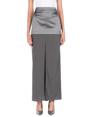 Купить Длинная юбка серого цвета