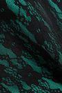 CHRISTOPHER KANE Two-tone lace mini skirt