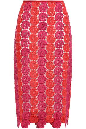 EMILIO PUCCI Guipure lace pencil skirt
