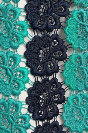 EMILIO PUCCI Guipure lace pencil skirt
