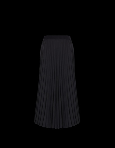 SKIRT Black Category Long skirts Woman