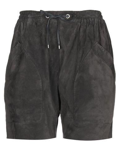 Купить Женские бермуды  свинцово-серого цвета