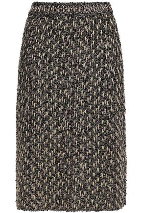M MISSONI Metallic tweed pencil skirt