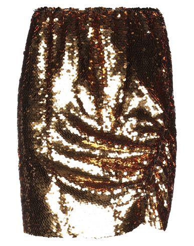 Купить Юбку до колена от CARLA G. золотистого цвета