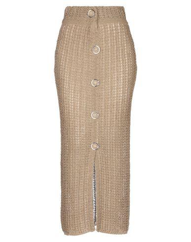 Купить Длинная юбка цвета хаки