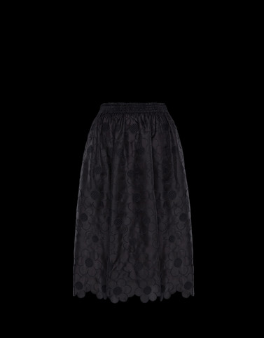 SKIRT Black 4 Moncler Simone Rocha Woman