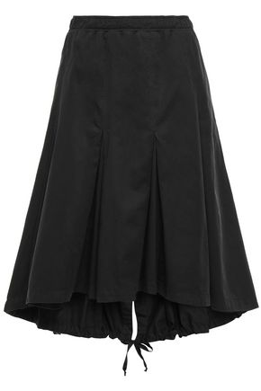 CLU Pleated cotton skirt