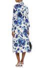 TORY BURCH Embellished satin midi skirt