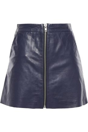 MUUBAA Leather mini skirt