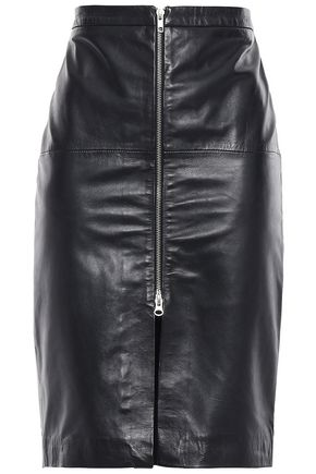 MUUBAA Leather pencil skirt