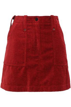 McQ Alexander McQueen Velvet mini skirt