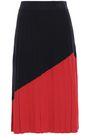 TORY BURCH Pleated knitted skirt
