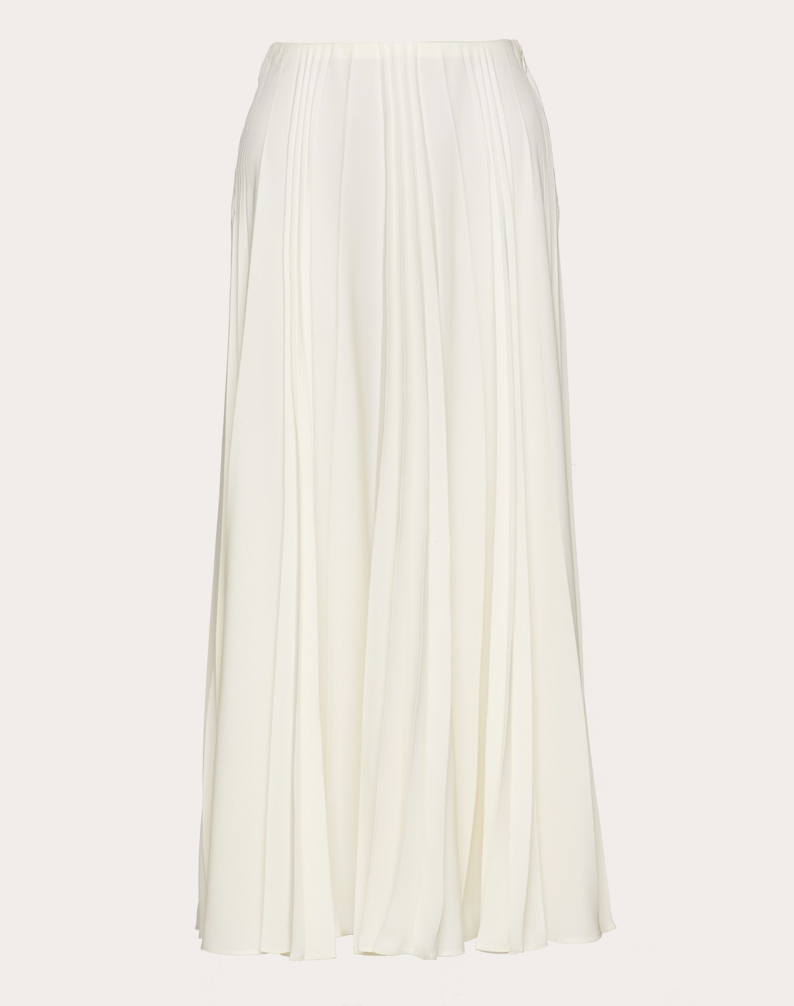 Pleated Georgette Skirt