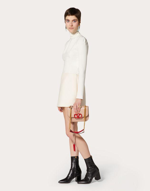 Crêpe Couture Mini Skirt