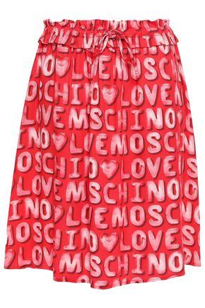 LOVE MOSCHINO Twill skirt