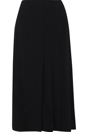 IRIS & INK Raegan crepe midi skirt