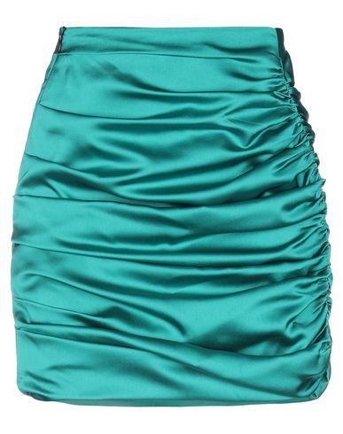 Фото - Юбку до колена от NINEMINUTES зеленого цвета