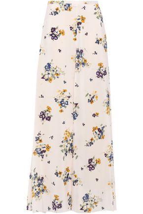 FORTE_FORTE Silk crepe de chine maxi skirt