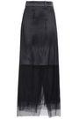 BRUNELLO CUCINELLI 装飾付き チュール マキシスカート