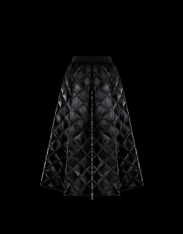 SKIRT Black Category Long skirts