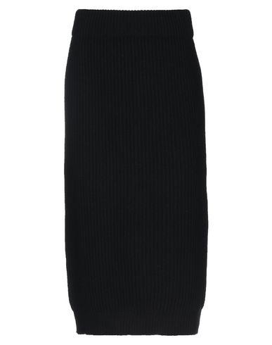 Купить Юбку длиной 3/4 черного цвета