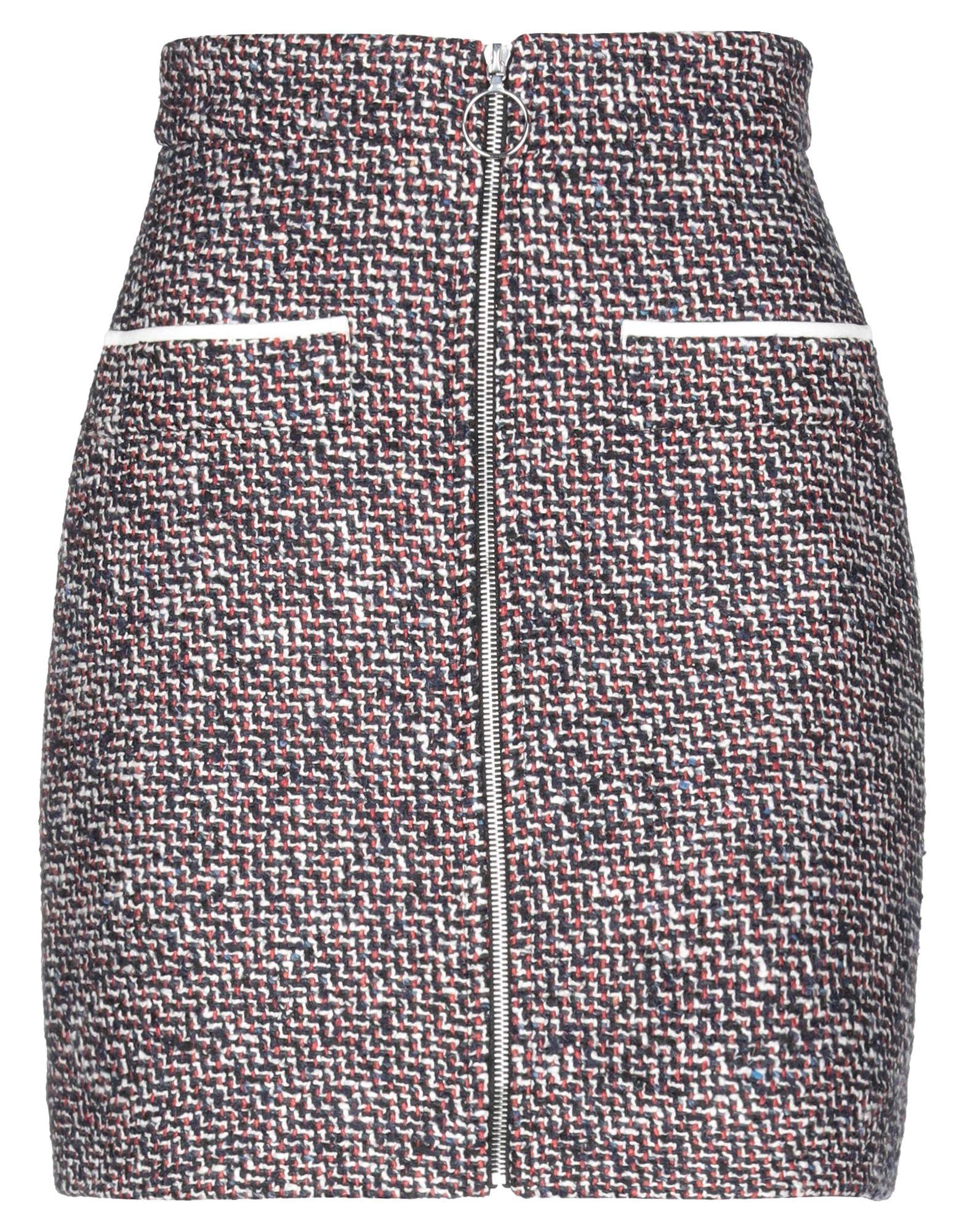 MAJE Мини-юбка maje длинная юбка