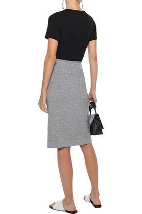 VINCE. Wool-blend skirt