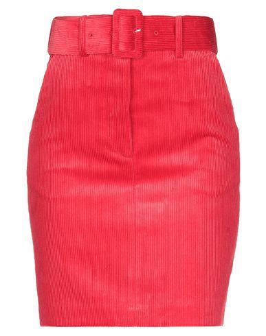 Купить Юбку до колена красного цвета